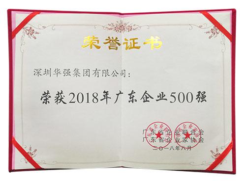 2018广东企业500强