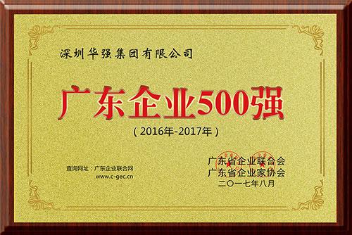 2016-2017年度广东企业500强